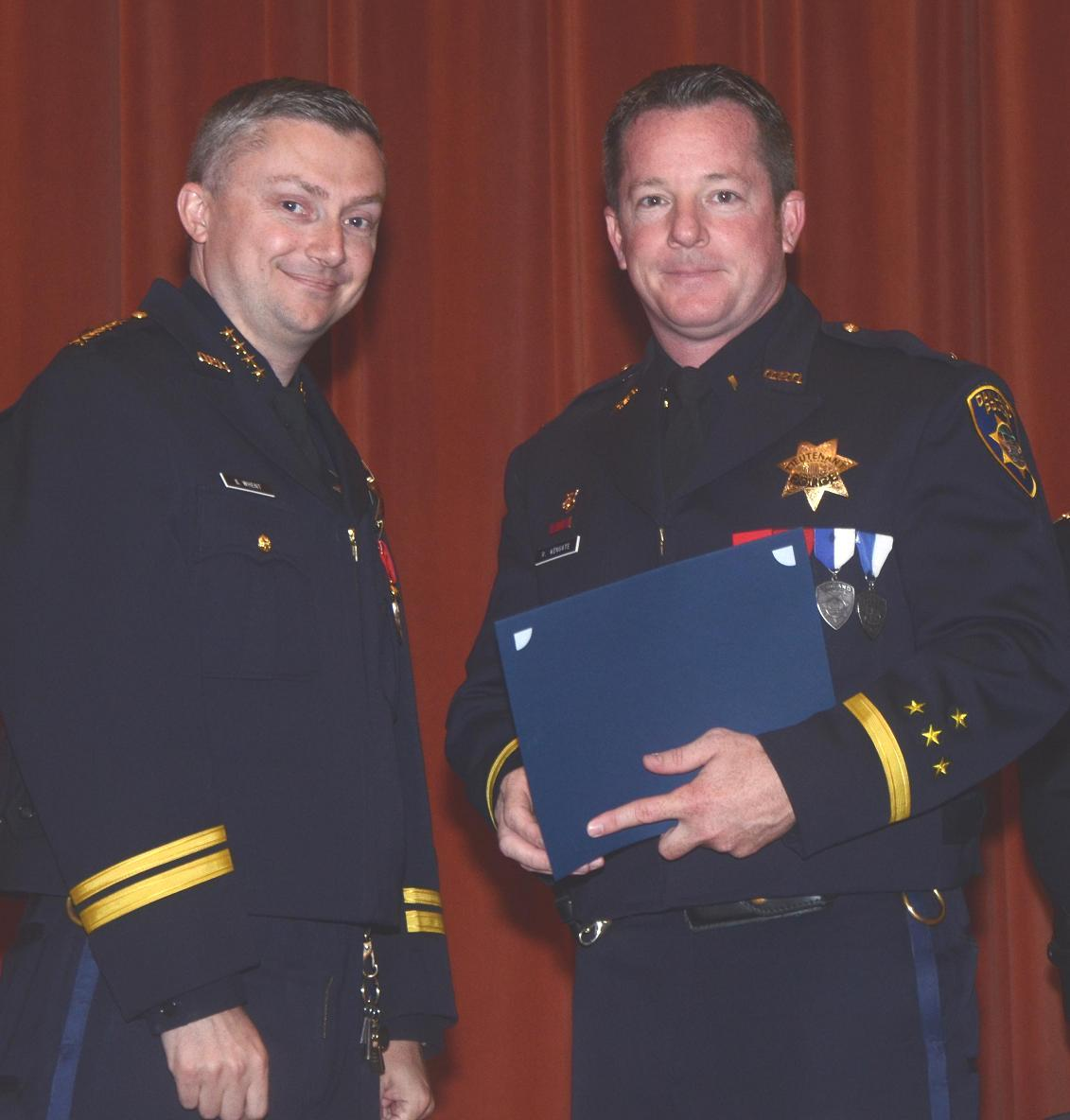 Lt Randy Wingate Community Service Award