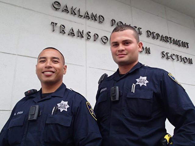 Officers Khem & Espinoza