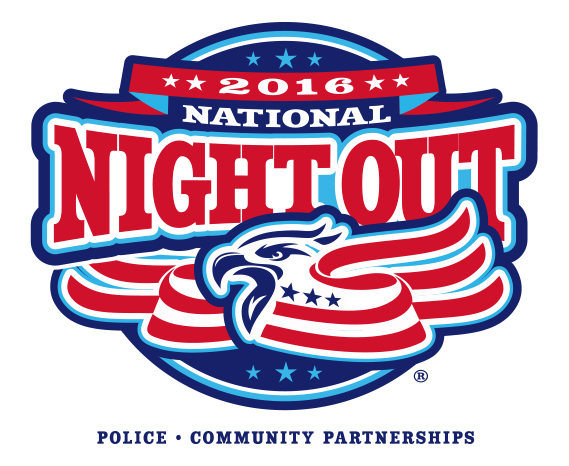 Logo for the National Night Out 2016