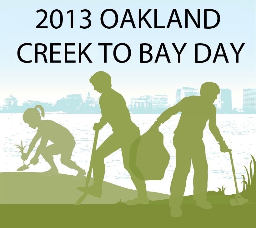 Volunteers to Clean and Beautify Oakland's Creeks and Waterways