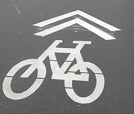 Photo of a Sharrow
