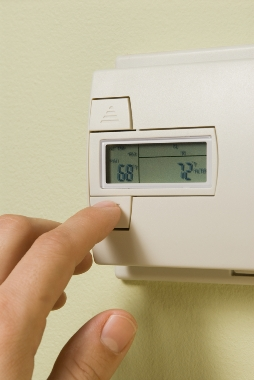 programmable thermostat photo
