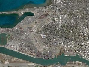 Aerial Photo of West Oakland