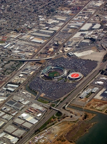 Aerial Photo of Coliseum Area