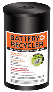 Battery Recycling Container for City Facilities