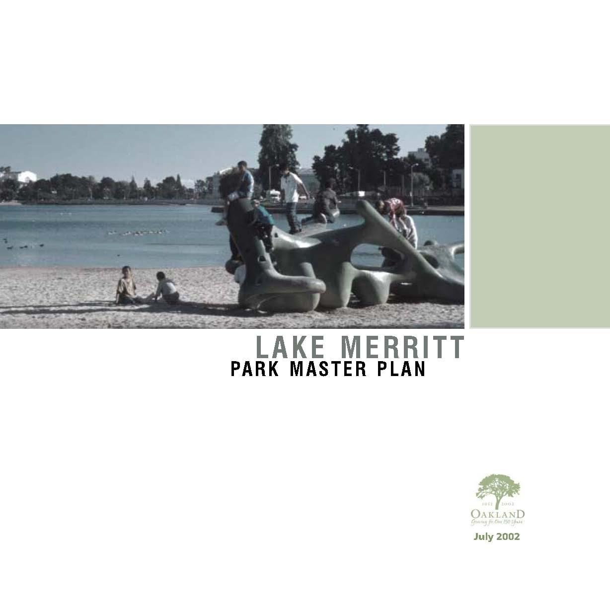 Lake Merritt Master Plan cover image