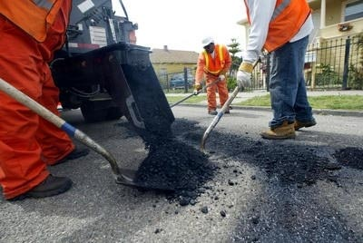Public Works Kicks Off Four-Week Blitz on Potholes