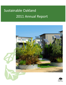 2011 Sustainable Oakland Report cover