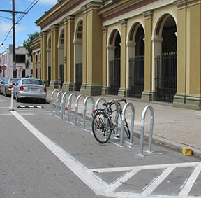 Photo of a bike corral-thumbnail