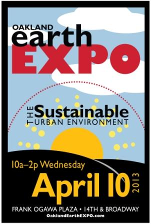 Celebrate Sustainability at EarthEXPO 2013 on April 10!