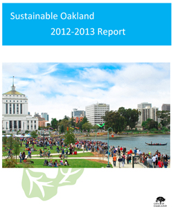Sustainable Oakland 2012-13 Report Cover