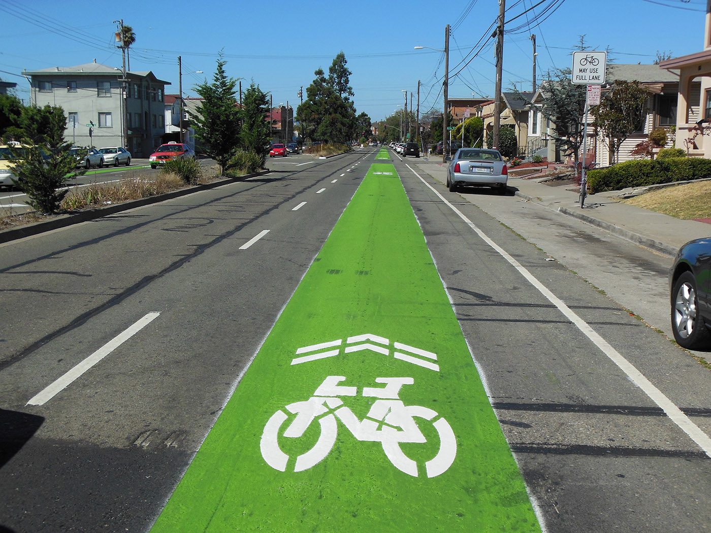 West Street Bike Lane