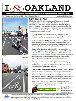 I bike Oakland newsletter image