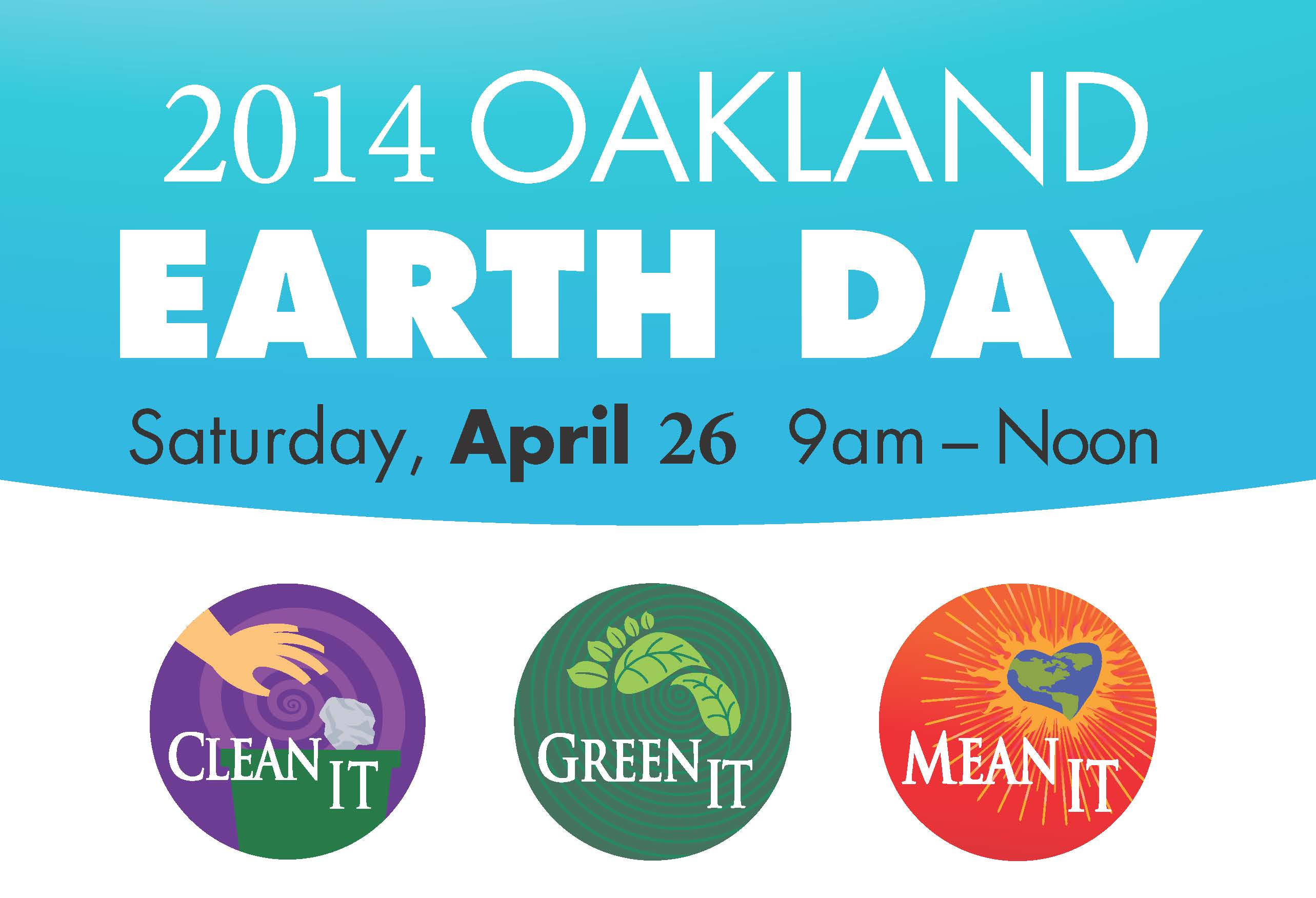 Oakland Earth Day Volunteers