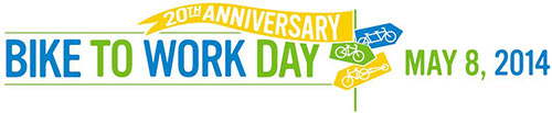 Bike to Work Day 2014 logo