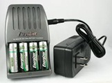 Image of Rechargeable Batteries and Charger