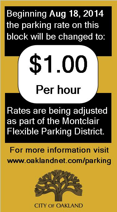 Peripheral Flex Parking Sticker
