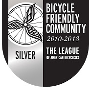 Oakland Bicycle Friendly Community Silver award