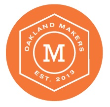 Orange Oakland Makers logo