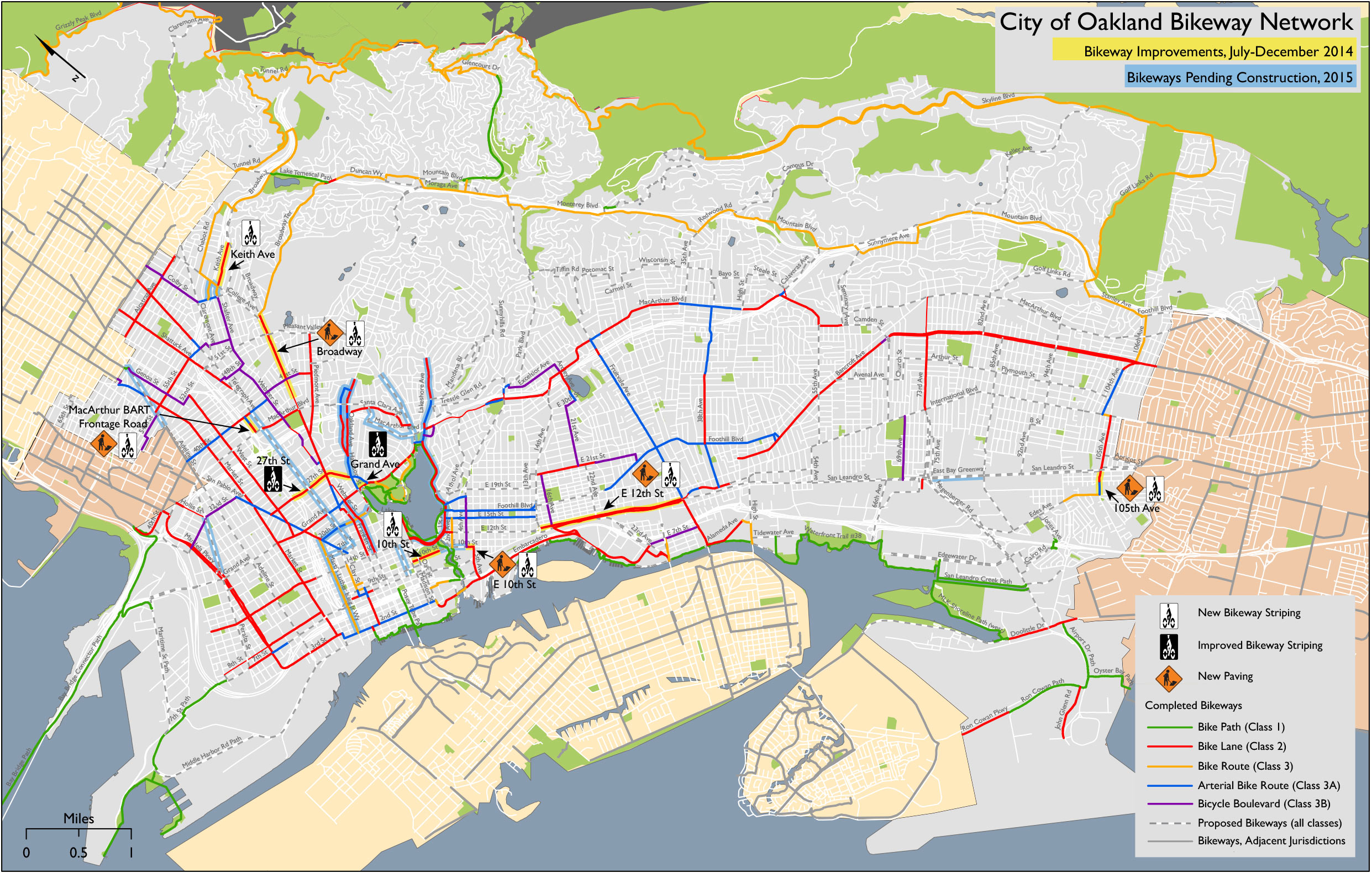 Bikeways Map 2015