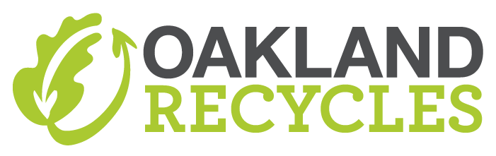 2015 Oakland Recycles Logo - Horiz