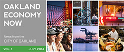 Oakland Economy Now July 2014 Masthead