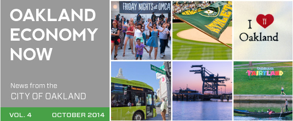 Oakland Economy Now September 2014 Masthead