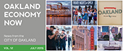Oakland Economy Now newsletter July 2015 Masthead