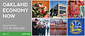 Oakland Economy Now newsletter January & February 2016 Masthead